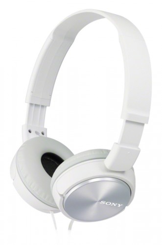 Slúchadlá cez hlavu Sony MDR-ZX310W, biele