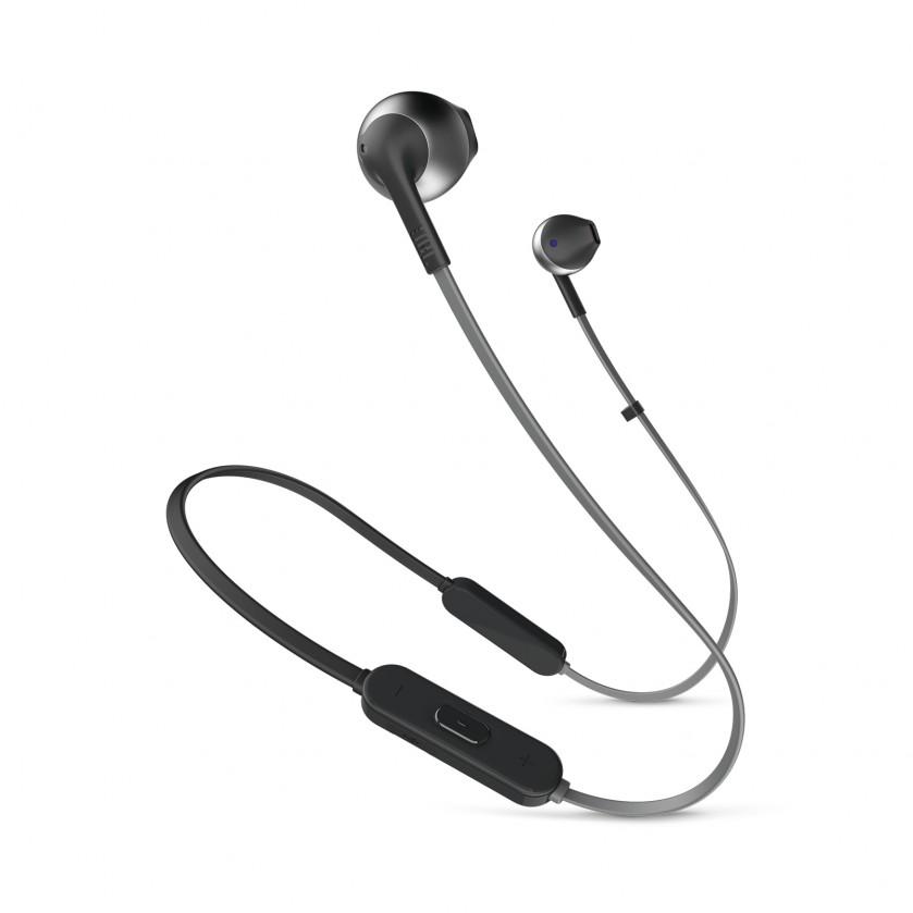 Slúchadlá do uší Bazdrôtové slúchadlá JBL T205BT čierna