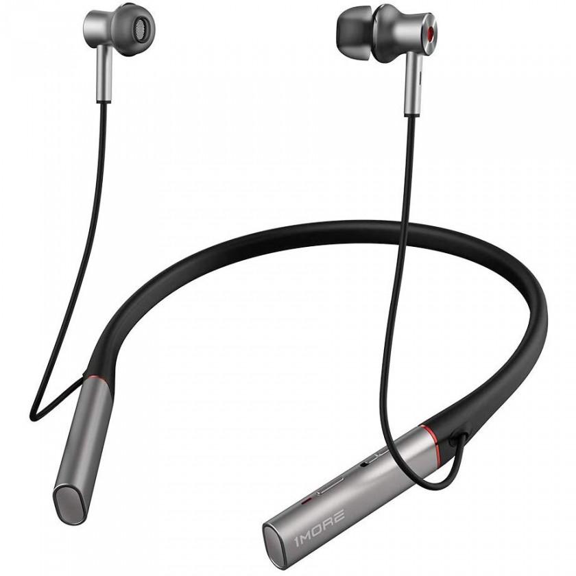 Slúchadlá do uší Bezdrôtové slúchadlá 1MORE Dual Driver Bluetooth ANC, strieborné