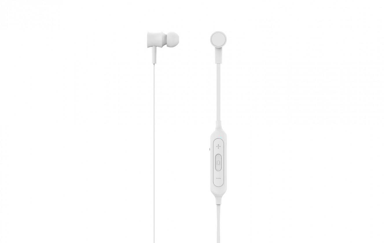 Slúchadlá do uší Bezdrôtové slúchadlá MySound Speak COLOR, biele