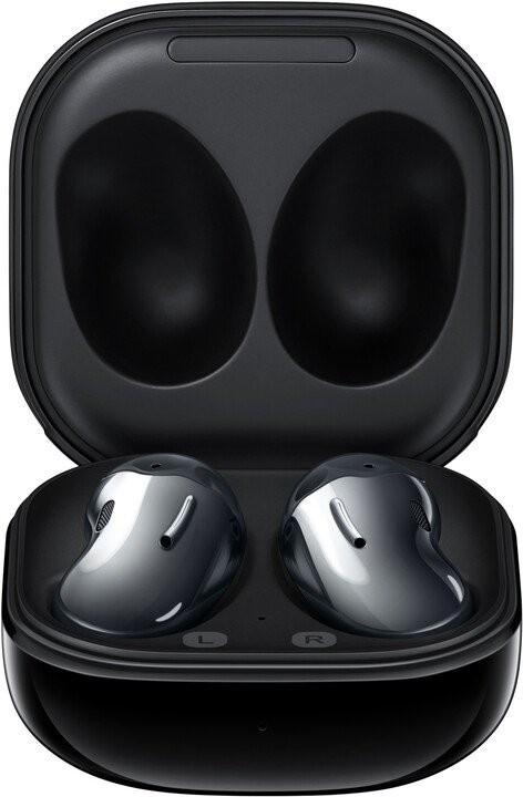 Slúchadlá do uší Bezdrôtové slúchadlá Samsung Galaxy Buds Live, čierna