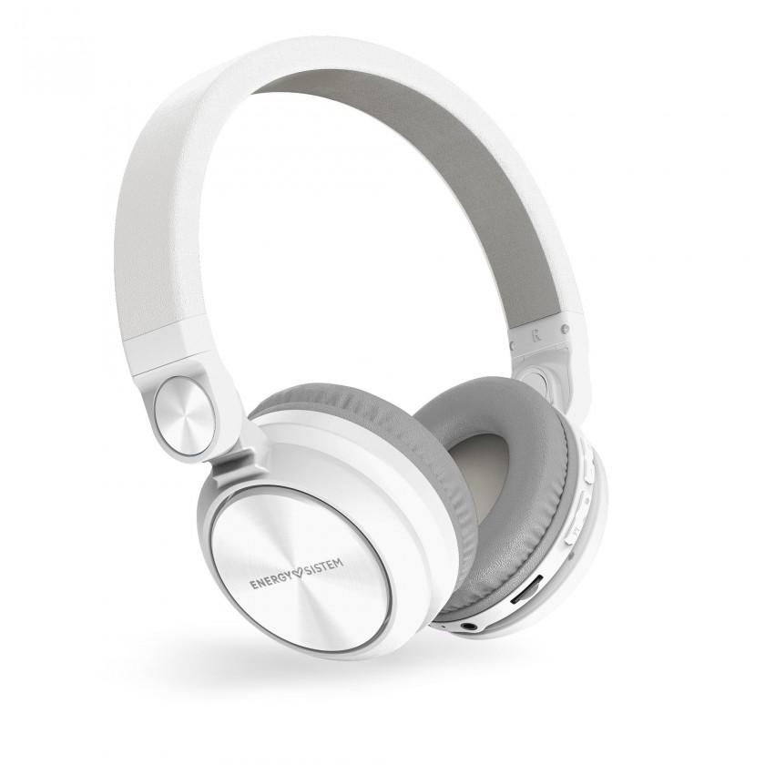 Slúchadlá do uší ENERGY Headphones BT Urban 2 Radio White