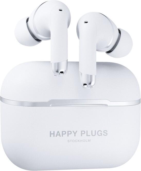 Slúchadlá do uší Happy Plugs AIR 1 ANC - White