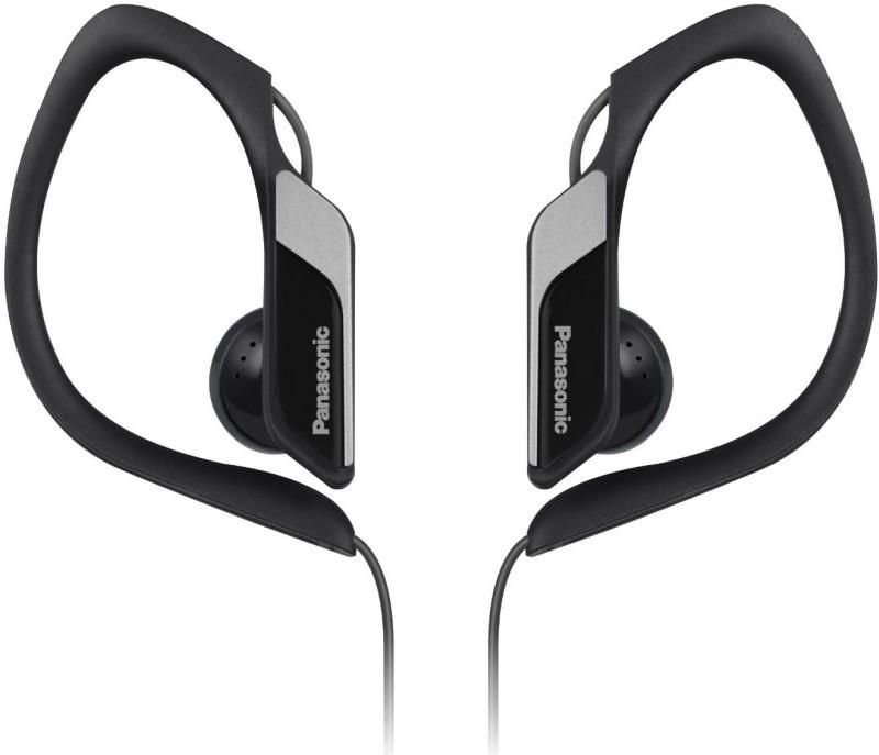 Slúchadlá do uší Panasonic RP-HS34E-K, čierno-sivé