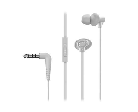Slúchadlá do uší Panasonic RP-TCM130E-W, biele