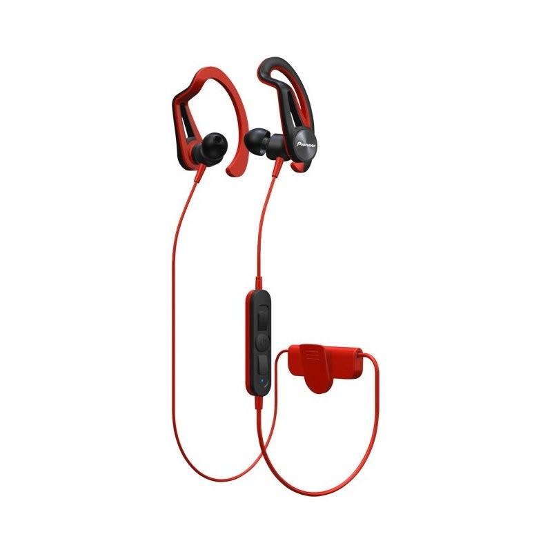 Slúchadlá do uší PIONEER SE-E7BT-R sluchátka / BT/ červená