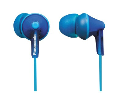 Slúchadlá do uší Slúchadlá do uší Panasonic RP-HJE125E-A, modré