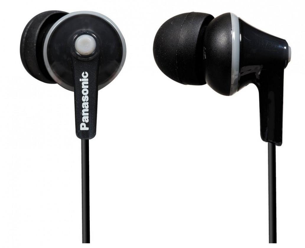 Slúchadlá do uší Slúchadlá do uší Panasonic RP-HJE125E-K, čierne