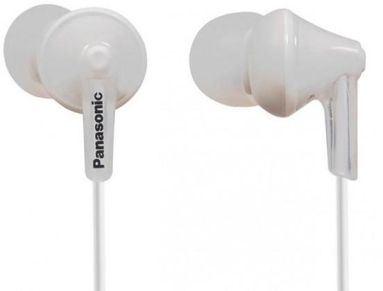Slúchadlá do uší Slúchadlá do uší Panasonic RP-HJE125E-W, biele