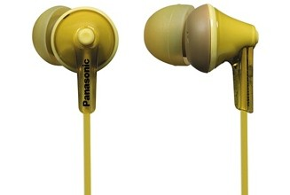 Slúchadlá do uší Slúchadlá do uší Panasonic RP-HJE125E-Y, žlté