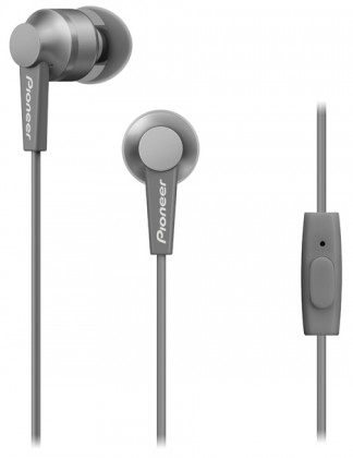 Slúchadlá do uší Slúchadlá do uší Pioneer SE-C3T-H, sivé