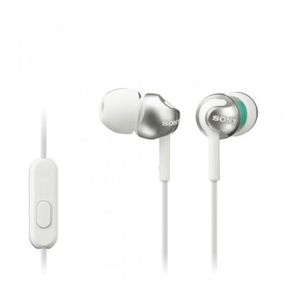 Slúchadlá do uší Slúchadlá do uší Sony MDR-EX110AP, biele