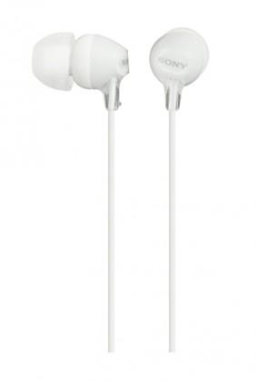 Slúchadlá do uší Slúchadlá do uší Sony MDR-EX15LP, biele