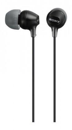 Slúchadlá do uší Slúchadlá do uší Sony MDR-EX15LP, čierne
