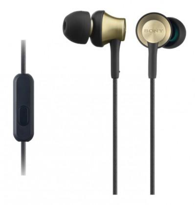Slúchadlá do uší Slúchadlá do uší Sony MDR-EX650APT, čierno-zlaté