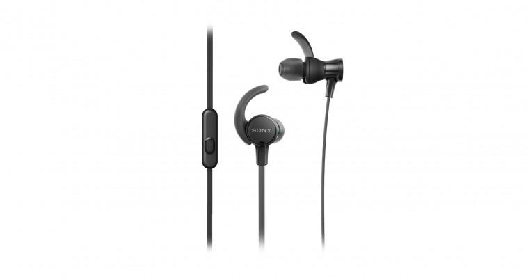 Slúchadlá do uší Slúchadlá do uší Sony MDR-XB510ASB, čierne