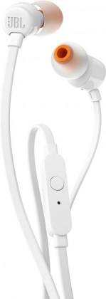 Slúchadlá do uší Slúchadlá JBL T110 biela