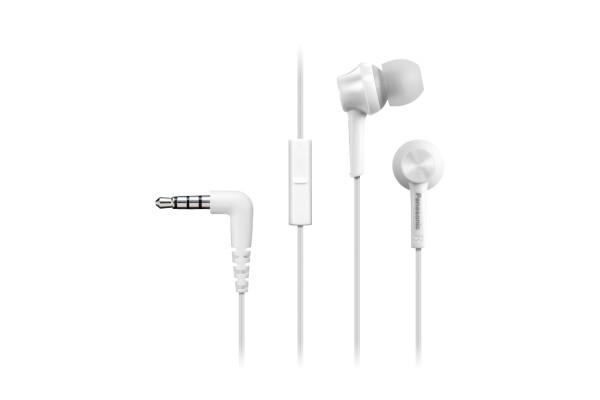 Slúchadlá do uší Sluchátka Panasonic RP-TCM115E-W - bílá