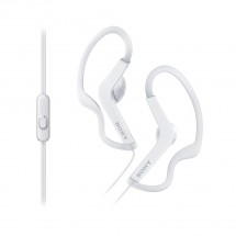Slúchadlá do uší Sony MDR-AS210APW, biele