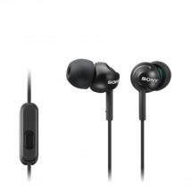 Slúchadlá do uší Sony MDR-EX110AP, čierne