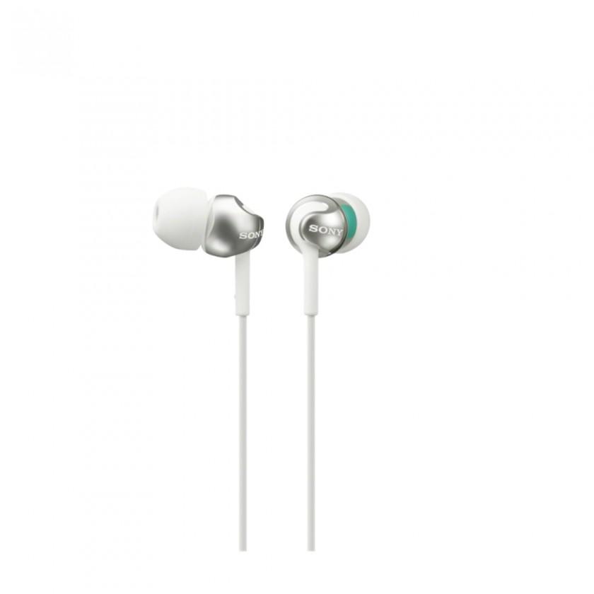 Slúchadlá do uší Sony MDR-EX110LP, biela