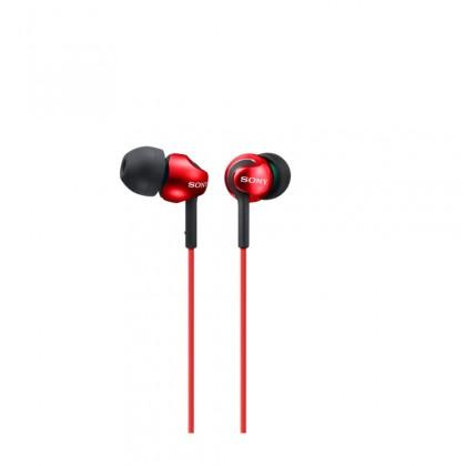 Slúchadlá do uší Sony MDR-EX110LP, červená