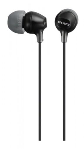 Slúchadlá do uší Sony MDR-EX15AP, černé
