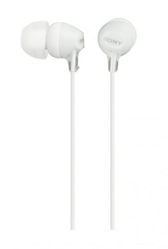 Slúchadlá do uší Sony MDR-EX15LP, biele