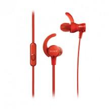 Slúchadlá do uší Sony MDR-XB510ASR, červené