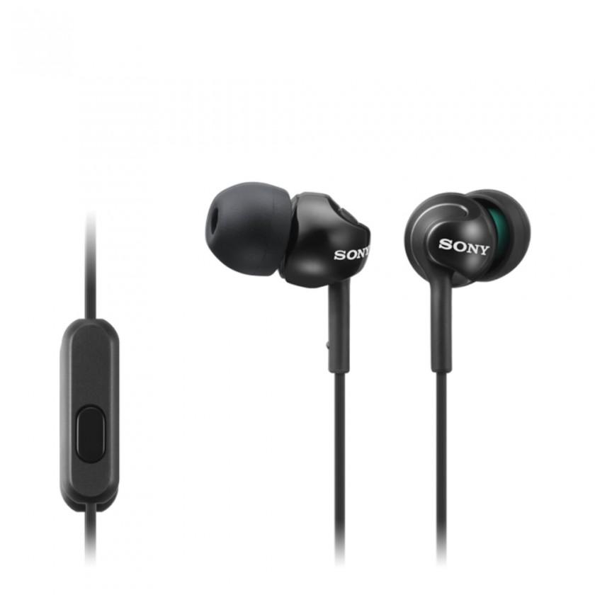 Slúchadlá do uší Sony Slúchadlá MDR-EX110AP čierna