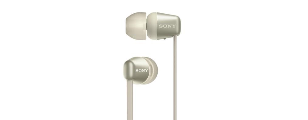 Slúchadlá do uší Sony WI-C310 zlaté