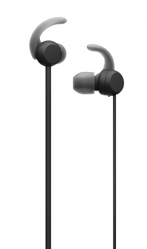 Slúchadlá do uší Sony WI-SP510, čierna