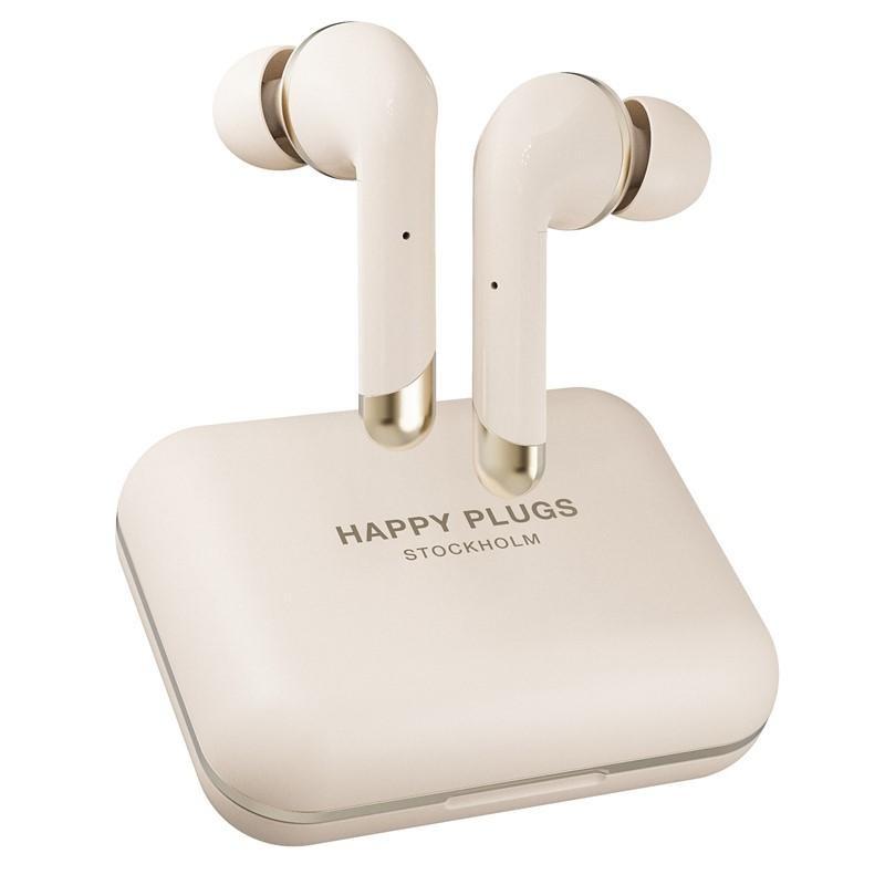 Slúchadlá do uší True Wireless slúchadlá Happy Plugs Air 1 Plus In-Ear, zlaté