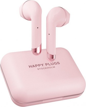 Slúchadlá do uší True Wireless slúchadlá Happy Plugs Air 1 Plus, ružovo-zlaté
