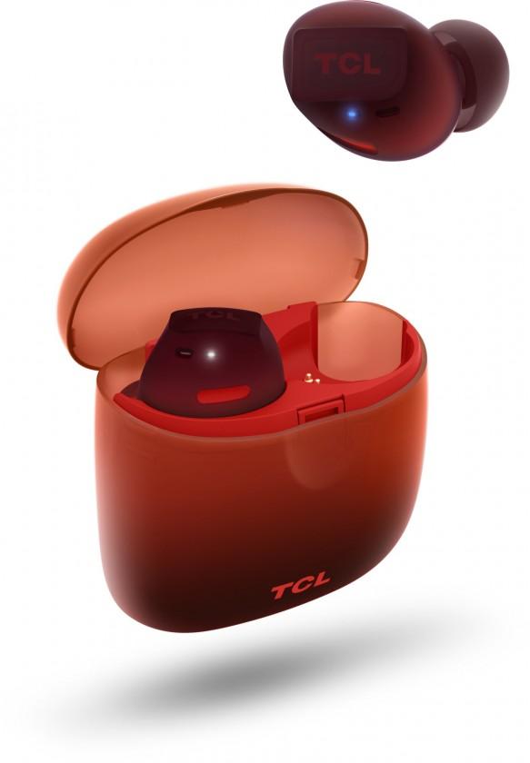 Slúchadlá do uší True wireless slúchadlá  TCL SOCL500TWS oranžové