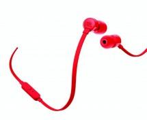Slúchadlá JBL T110 červená