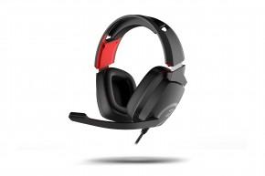 Slúchadlá OZONE Ekho X40, herné, pre PS4/XBOX/NS/PC, čierna
