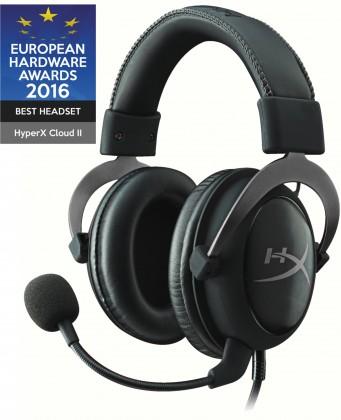Slúchadlá s mikrofónom Headset HyperX Cloud II (KHX-HSCP-GM) čierny