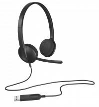 Slúchadlá s mikrofónom Logitech Corded H340 (981-000475)