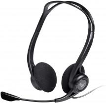 Slúchadlá s mikrofónom Logitech Corded PC 960 (981-000100)