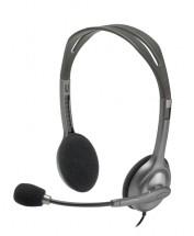 Slúchadlá s mikrofónom Logitech Stereo H111 (981-000593)