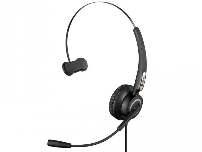 Slúchadlo s mikrofónom Sandberg USB Pro Mono (126-14)