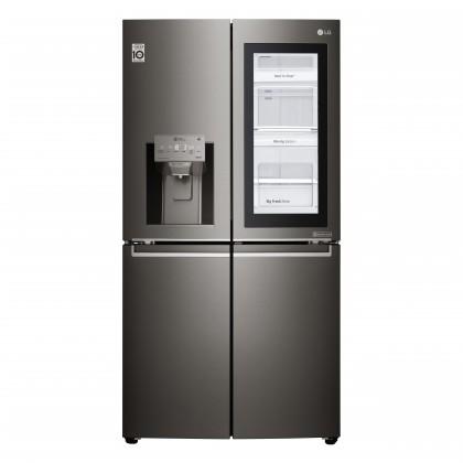 Smart chladničky s mrazničkou Americká 4-dverová chladnička LG GMX936SBHV