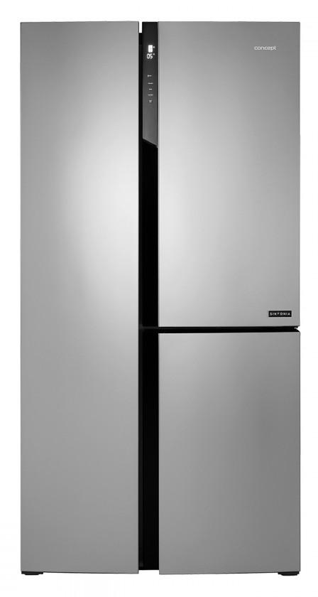 Smart chladničky s mrazničkou Americká chladnička Concept LA7791ss,A+