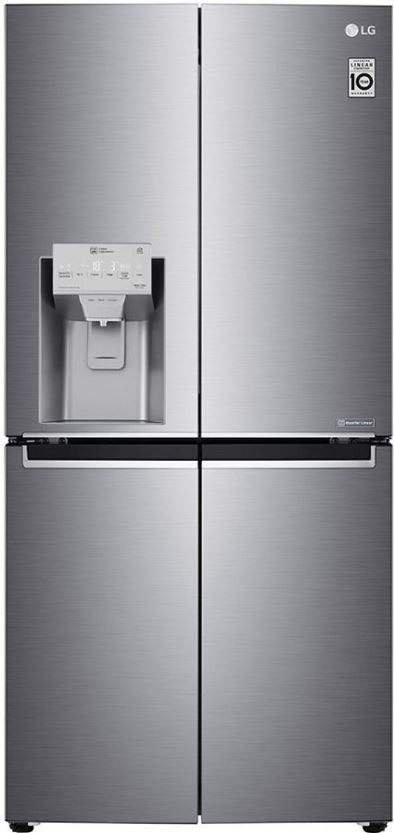 Smart chladničky s mrazničkou Americká chladnička LG GML844PZKZ, A++