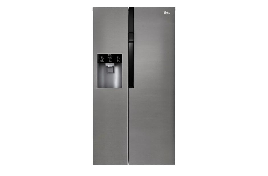 Smart chladničky s mrazničkou Americká chladnička LG GSL360ICEV, A+