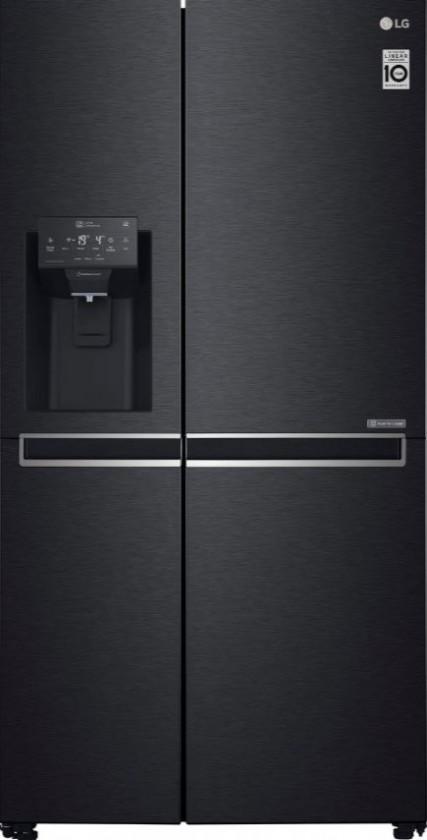 Smart chladničky s mrazničkou Americká chladnička LG GSL761MCZZ, A++
