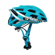 Smart helma SafeTec TYR 2, L, LED smerovka, bluetooth, modrá