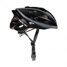 Smart helma SafeTec TYR, S, LED smerovka, bluetooth, čierna