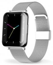 Smart hodinky Aligator Watch Life, 3x remienok, strieborné